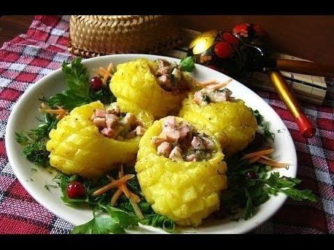 Закуска Лапти. Блюда из картофеля быстро и вкусно.