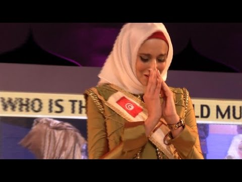 Tunisian Wins Muslim Beauty Pageant, Calls For Free Palestine video