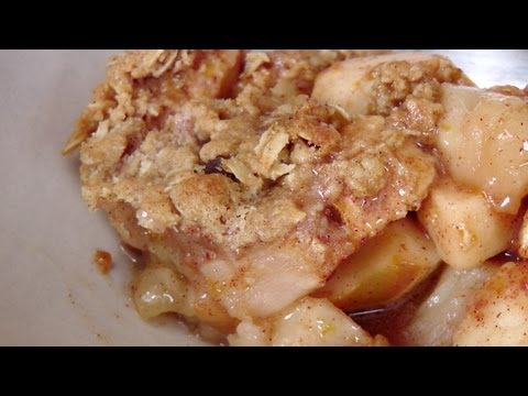 How to Make Apple Crisp - Recipe by Laura Vitale - Laura in the Kitchen Episode 195