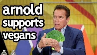 Arnold Schwarzenegger Produces Vegan Documentary | REAL Game Changer!