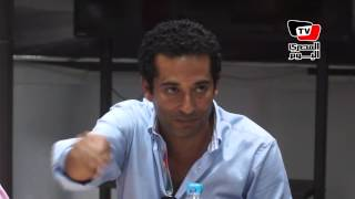 عمرو سعد: أرفض أني أقول عننا «شعب عظيم» لأن كلمة شعب عظيم بتخدر الناس
