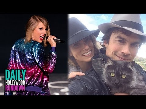 Taylor Swift Saves 3 Teen's Lives - Ian Somerhalder RUDE TO FANS? (DHR)