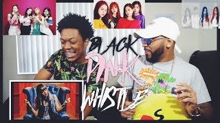 BLACKPINK - '휘파람'(WHISTLE) M/V |FVO Reaction