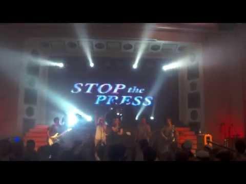 Stop the Press @ Apollo Live Club Helsinki 11.9.2014