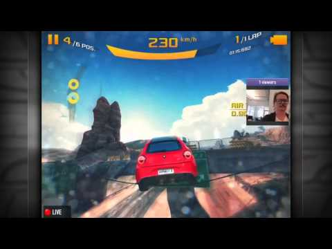 How to Live Stream in Asphalt 8: Airborne