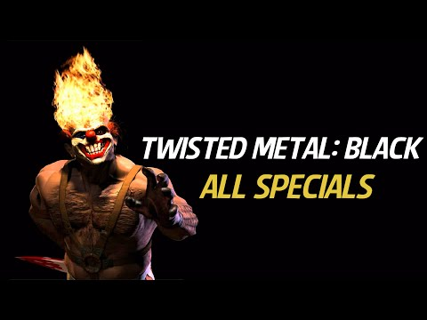 Twisted Metal: Black All Specials