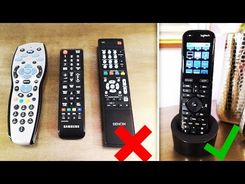 A Remote that controls EVERYTHING! (Logitech Harmony Elite)