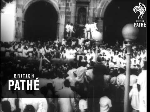 Slain President Of Panama Buried AKA Remon Funeral (1955)