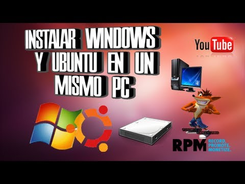 Instalar Windows 7 Y Ubuntu En Un Mismo PC Video Bien Explicado