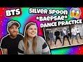 BTS 'Silver Spoon (Baepsae)' mirrored Dance Practice Reaction