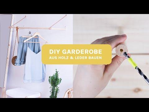 DIY Garderobe selber bauen | #meindiyzuhause