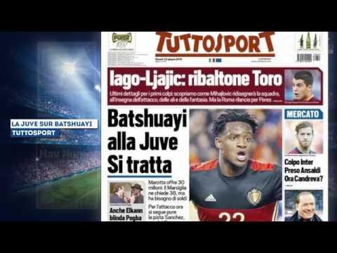 Aaron Ramsey ciblé par Mourinho, Batshuayi vers la Juventus