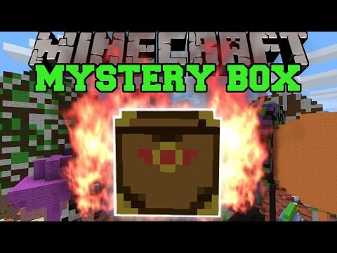 Minecraft: MYSTERY BOX (CRAZY REWARDS OR  HORRIBLE DEATHS!) Mod Showcase