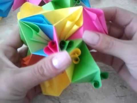 kusudama z kręciołami Music Videos