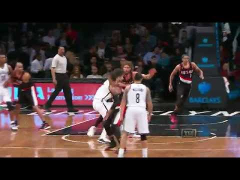Brook Lopez Leads Nets over Brother Robin's Trail Blazers