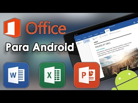 ¡¡¡POR FIN!!! Word-Excel-PowerPoint para Android Oficial//Microsoft Office Preview