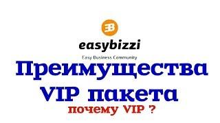 Easybizzi Преимущества пакета VIP в маркетинге Биткоин Bitcoin Бизнес в интернете Презентация МЛМ