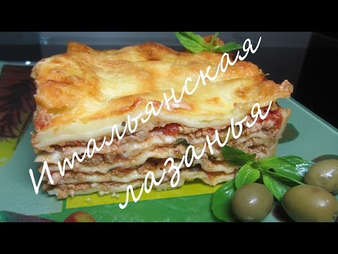 Лазанья clip công thức Hướng dẫn dậy học làm mỳ Ý Lasagna Bolognese Bechamel   mì Ý sốt thịt băm