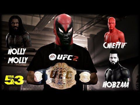 UFC 2 Бои с топами(HOLLY MOLLY,Hobzaaa,ChieFYif)+Подарок на день рождения от подписчика!НОКАУТЫ!