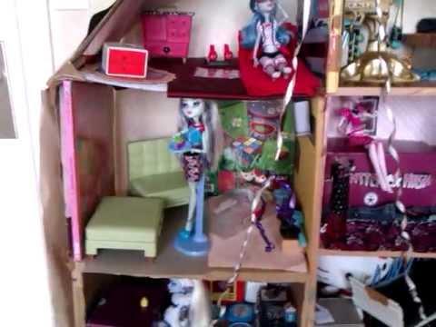 Ma Maison Monster High Pour Le Concour De Sophie54800