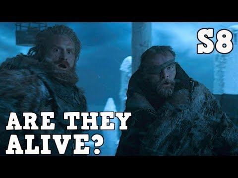 Where Are Beric Dondarrion And Tormund Giantsbane Game Of Thrones