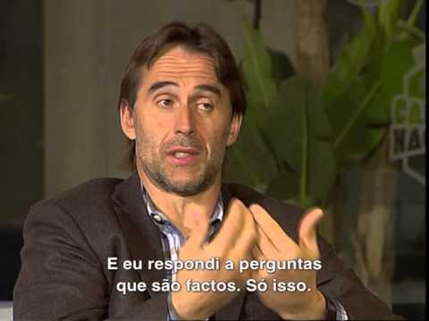 Futebol: Entrevista a Julen Lopetegui (30/03/15)