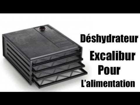 Déshydrateur excalibur inox
