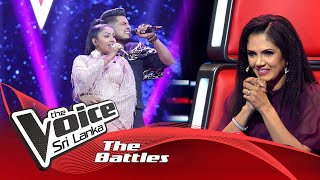 The Battles : Udani Pabasara V Dineth Wijesooriya | Hitha Hiri Watunado | The Voice Sri Lanka