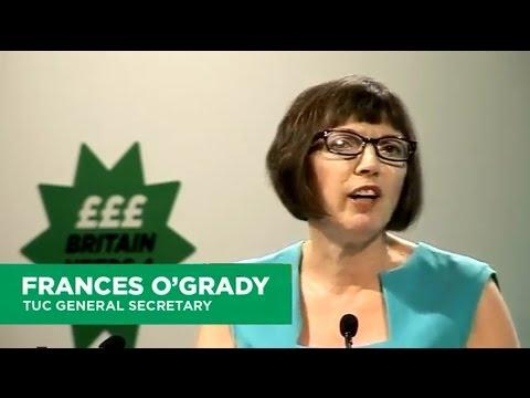 Frances OGrady speech to TUC Congress 2014