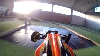 On Board GoPro 1/10 2wd Rc Buggy - Crazy Racing Track 2018
