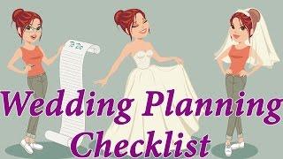 Wedding Planning Checklist. Step-by-step Wedding Planning Guide