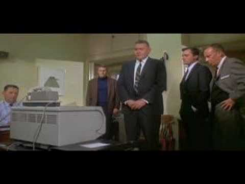 Le tlcopieur donne des rsultats, extrait de Bullitt (1968)