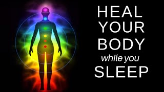 Heal While You Sleep Chakra Balancing And Clearing Healing Guided Meditation