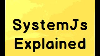 Learn Javascript framework (SystemJs framework)