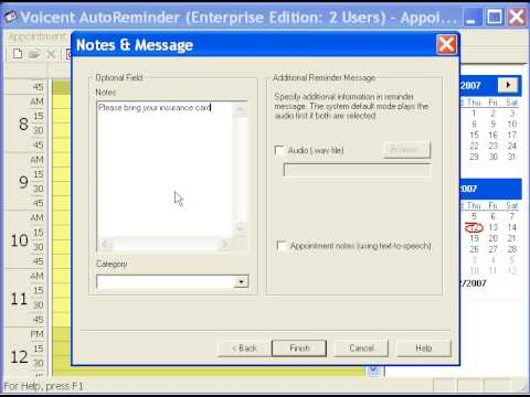 How to Setup Voicent Appointment Reminder By Phone SMS Email