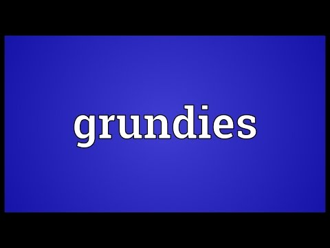 Header of grundies