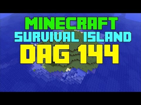 Minecraft - Survival island - Dag 144