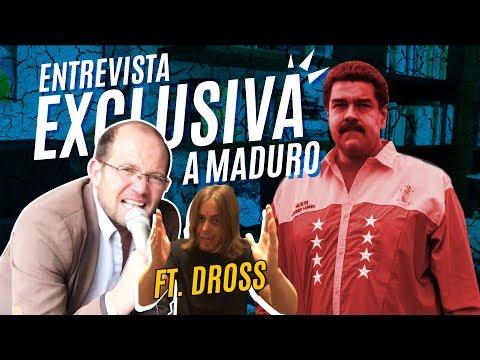 Al fin se pone tras un micrófono el mandatario más polémico del hemisferio: entrevista exclusiva con Nicolás Maduro (con la gentil asesoría de Dross, el youtuber venezolano de mayor alcance...