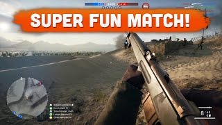 SUPER FUN MATCH! - Battlefield 1 | Road to Max Rank #28 (Multiplayer Gameplay)