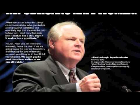 Rush Limbaugh Makes a Compelling Argument for Feminism