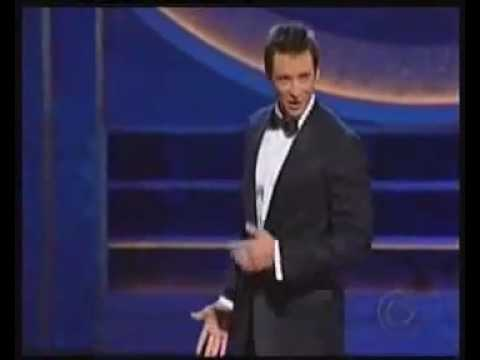 Hugh Jackman in the Tony's Medley