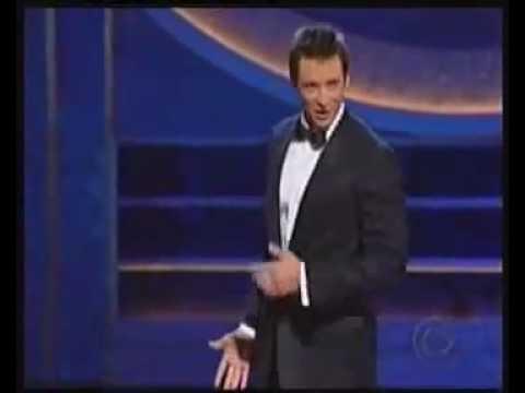 Hugh Jackman in the Tony's Medley