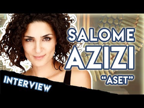 """Tears Of A Goddess"" – Salome Azizi Interview (STARGATE ORIGINS)"