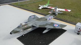 Ripmax Hawker Hunter Preview & Flight