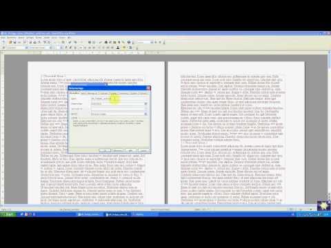 Hausarbeiten formatieren mit OpenOffice Teil 2: Titelblatt- und Inhaltsverzeichnisvorlage
