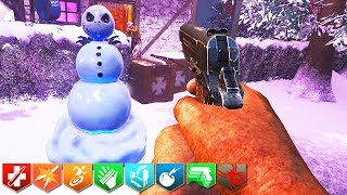'New' TINY CHRISTMAS ZOMBIES CHALLENGE!!!! (Call of Duty Custom Zombies)
