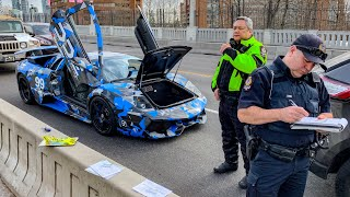 CANADIAN POLICE USE UNLAWFUL TACTICS ON LAMBORGHINI OWNERS!