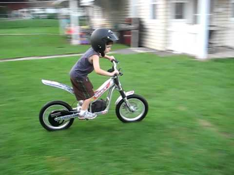 Bike Tricks For Kids kid biker yr old does