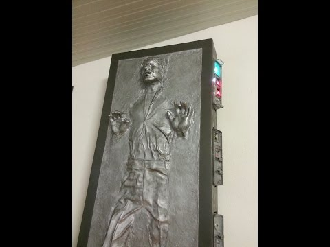 How to build Han Solo in Carbonite Lifesize - Germany