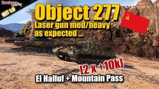 Object 277, new Russian heavy tank game play, WORLD OF TANKS